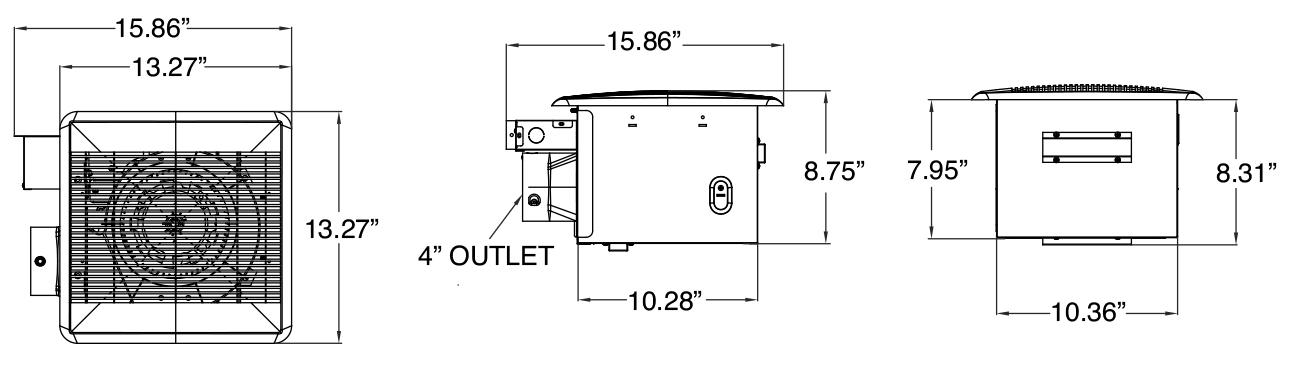 BPT18-34A-1 Bathroom Exhaust Fan